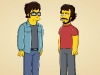 "THE SIMPSONS: While Bart and Homer accompany Krusty to accept his Nobel Peace Prize, Marge surprises Lisa with a week-long retreat at performing arts camp where she is greeted by her artsy counselors (guest voices Jemaine Clement and Bret McKenzie of ""Flight of the Conchords"", pictured) in the ""Elementary School Musical"" season premiere episode  of THE SIMPSONS airing Sunday, Sept. 26 (8:00-8:30 PM ET/PT) on FOX.  THE SIMPSONS © and ™ 2010 TTCFFC ALL RIGHTS RESERVED."