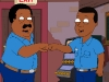 "THE CLEVELAND SHOW: Cleveland mentors Kenny (guest star Kanye West) to help get his rap career off the ground in the second season premiere episode ""Harder, Better,  Faster, Browner"" airing Sunday, Sept. 26 (8:30-9:00 PM ET/PT) on THE CLEVELAND SHOW on FOX.  THE CLEVELAND SHOW ™ and © 2010 TTCFFC ALL RIGHTS RESERVED."