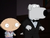 FAMILY GUY: A swanky retreat turns into a real murder mystery when guests end up dead, and Stewie and Brian scramble to solve the crime on the one-hour season premiere episode of FAMILY GUY airing Sunday, Sept. 26 (9:00-10:00 PM ET/PT) on FOX.  FAMILY GUY © and ™ 2010 TTCFFC ALL RIGHTS RESERVED.