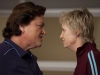 "GLEE:  Coach Beiste (guest star Dot Jones, L) and Sue (Jane Lynch, R) go head-to-head in Principal Figgins office in the ""Audition"" premiere episode of GLEE airing Tuesday, Sept. 21 (8:00-9:00 PM ET/PT) on FOX. ©2010 Fox Broadcasting Co. Cr: Adam Rose/FOX"