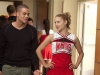 "GLEE: Puck (Mark Salling, L) tries to get Quinn's (Dianna Agron, R) attention in ""Audition,"" the season  premiere episode of GLEE airing Tuesday, Sept. 21 (8:00-9:00 PM ET/PT) on FOX. Also pictured: ©2010 Fox Broadcasting Co. Cr: Adam Rose/FOX"
