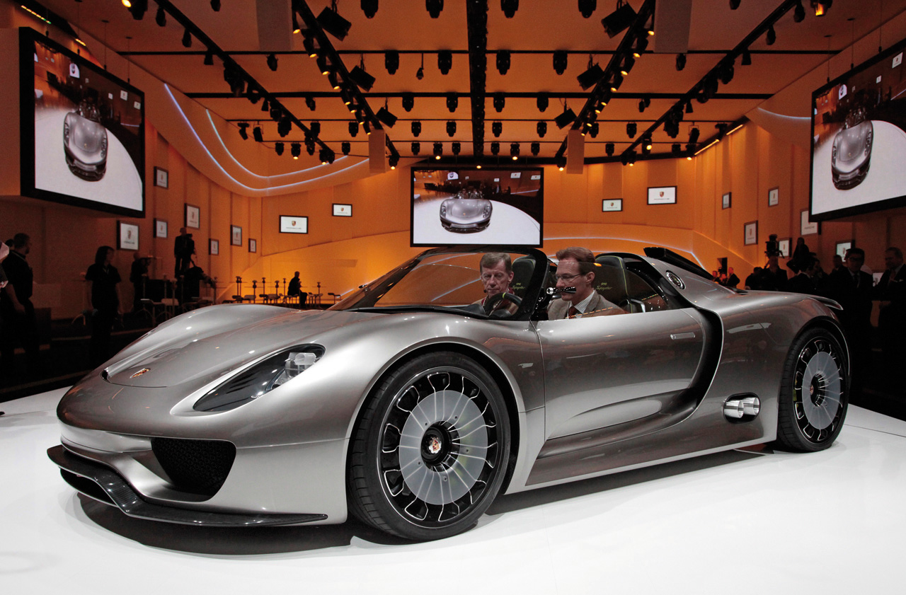 porsche 918 spyder concept experience it all. Black Bedroom Furniture Sets. Home Design Ideas