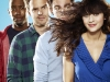 "NEW GIRL:  The new comedy starring Zooey Deschanel (""(500) Days of Summer"") as an adorkable girl who moves in with three single guys, changing their lives in unexpected ways premieres Tuesday, Sept. 20 (9:00-9:30 PM ET/PT) on FOX.   (Pictured L-R: Lamorne Morris,  Jake Johnson, Max Greenfield, Zooey Deschanel).  ©2011 Fox Broadcasting Co. Cr: Autumn DeWilde/FOX"