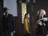 AMERICAN HORROR STORY: L-R: Dylan McDermott as Ben Harmon, Taissa Farmiga as Violet Harmon and Connie Britton as Vivien Harmon in AMERICAN HORROR STORY airing on FX. CR: Robert Zuckerman.