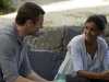 TERRA NOVA:  Jim (Jason O'Mara, L) and Elisabeth Shannon (Shelley Conn, R) enjoy their first day as citizens of Terra Nova in the special two-hour launch of TERRA NOVA, the new epic adventure drama that follows an ordinary family on an extraordinary journey to prehistoric Earth, airing Monday, Sept. 26 (8:00-10:00 PM ET/PT) on FOX. ©2011 Fox Broadcasting Co. Cr: Brook Rushton/FOX