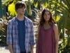 "TERRA NOVA: Josh (Landon Libiron, L) and Maddy (Naomi Scott, R) explore Terra Nova in ""Genesis"" the special two-hour premiere of TERRA NOVA airing Monday, Sept. 26 (8:00-10:00 PM ET/PT) on FOX. ©2011 Fox Broadcasting Co.  Cr:  Brook Rushton/FOX"