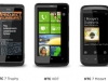 HTC WP7 lineup