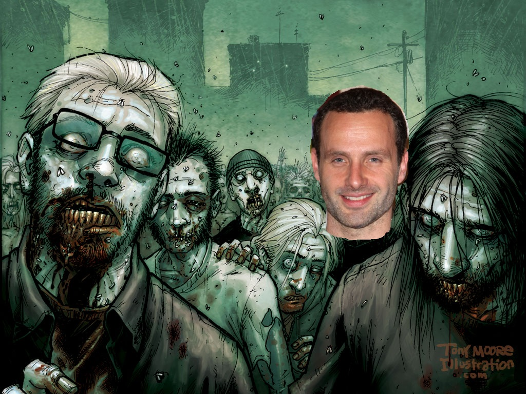 Actor Andrew Lincoln (Love,