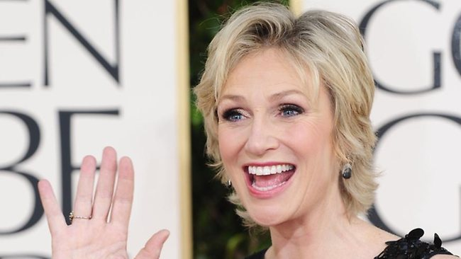 actress jane lynch of glee